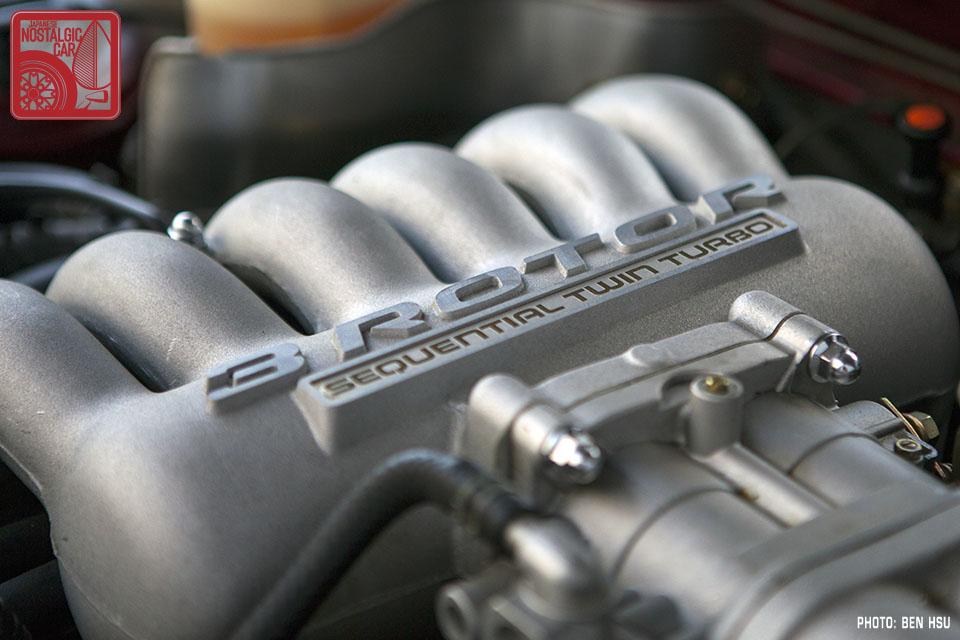 Silnik w modelu Mazda Eunos Cosmo JC