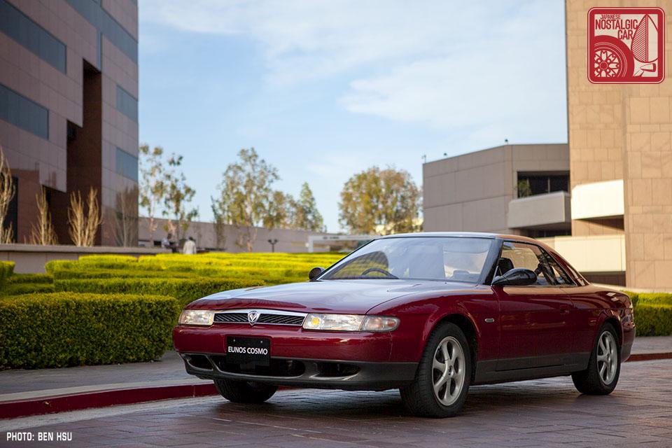 Mazda Eunos Cosmo JC - czwarta generacja Mazdy Cosmo