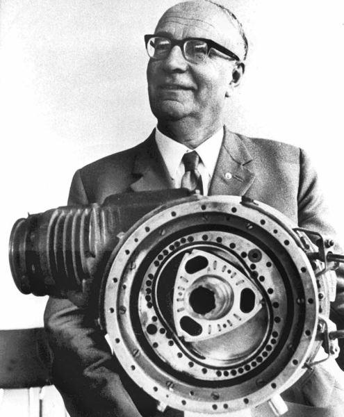 Felix Wankel - twórca silnika Wankla