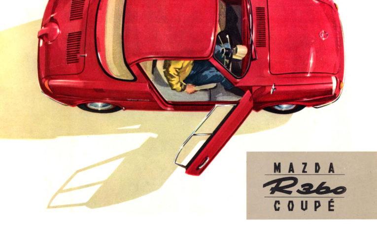 Mazda R360 coupe - pierwsze auto z fabryki Mazdy