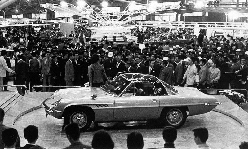 Mazda Cosmo na targach w Tokio w 1964 roku