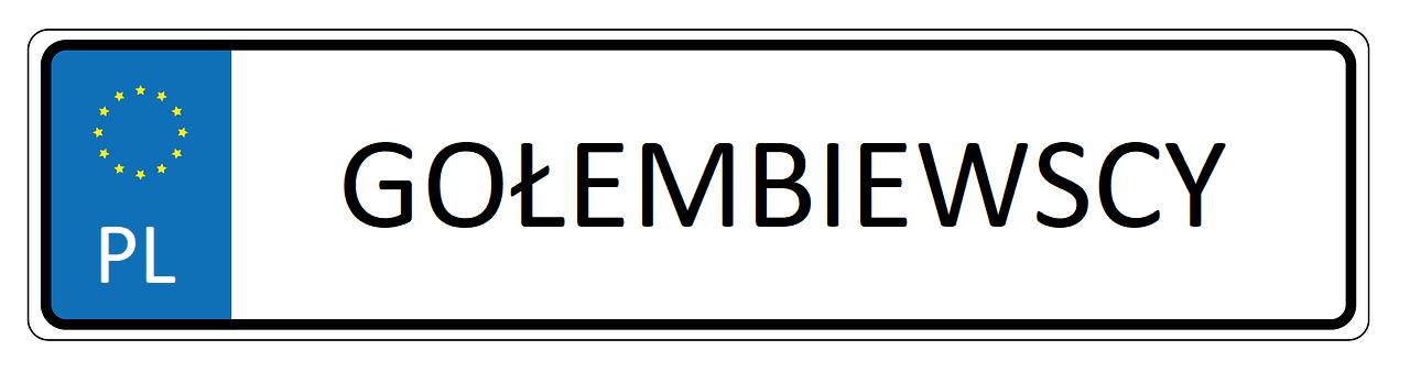 polskie-tablice rejestracyjne