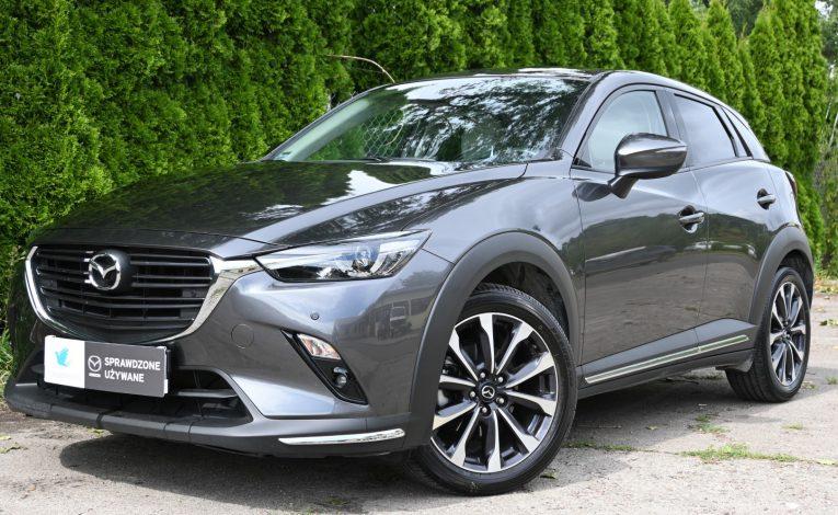 Mazda CX-3 z napędem na cztery koła Mazda 4x4