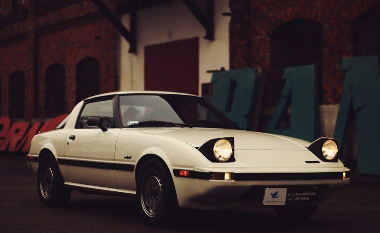 Mazda RX7 pierwszej generacji - Mazda serwis Warszawa Gołembiewscy