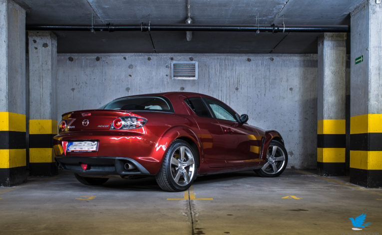 Mazda RX8 Revolution Reloaded - silnik wankla - ASO Mazda Gołembiewscy