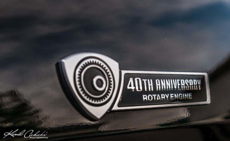 Mazda Gołembiewscy samochody - Mazda RX8 40th Anniversary w ASO Mazda Warszawa